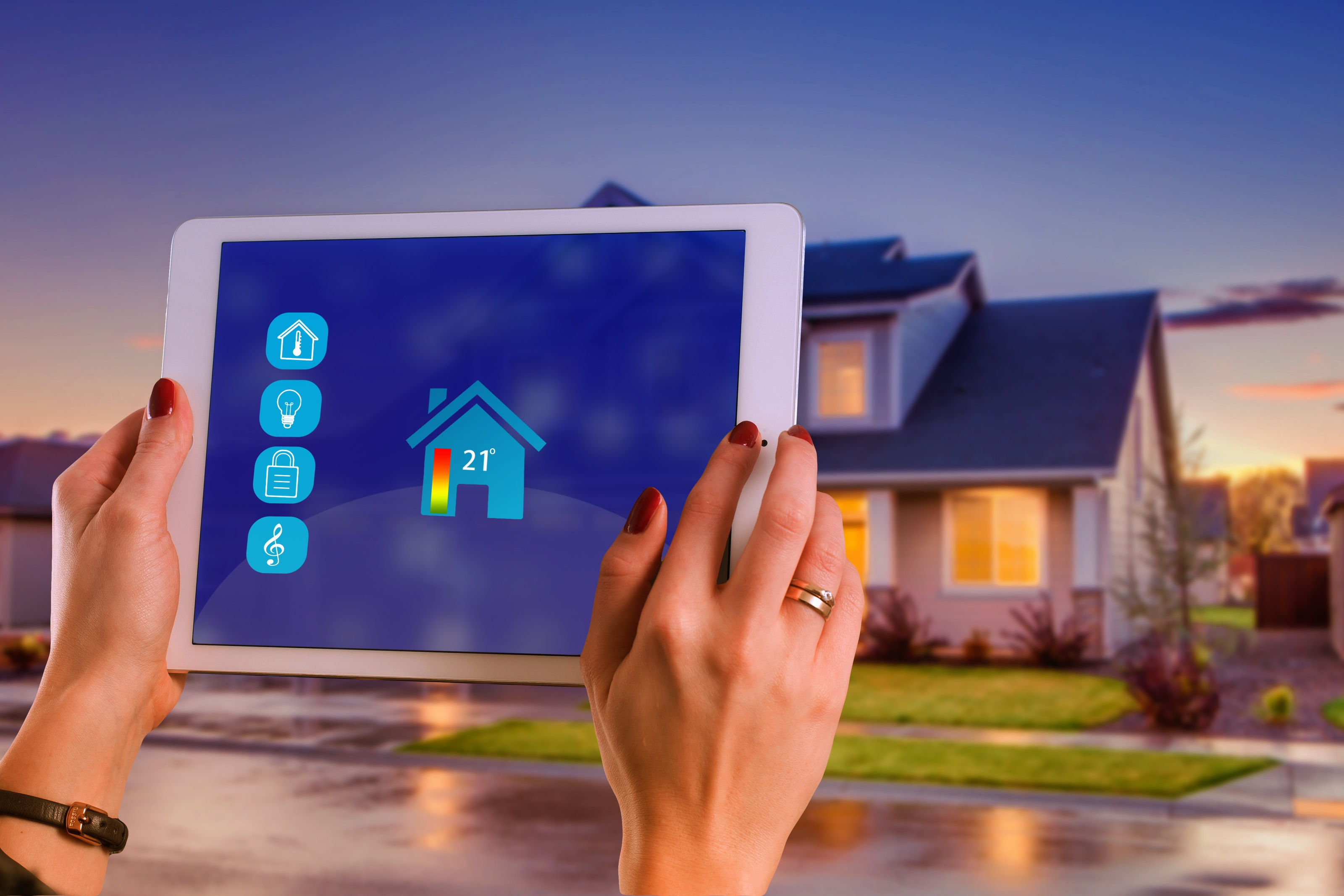 Tech-savvy buyers looking for homes to match